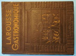 Livre Ancien Dictionnaire LAROUSSE GASTRONOMIQUE 1938 Librairie Larousse Rue Montparnasse - Dictionaries