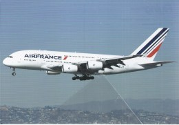Air France Airlines A380 F-HPJF Los Angeles USA AirFrance French - 1946-....: Modern Era