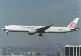 China Airlinesn B777 B-18051 Los Angeles Boeing - 1946-....: Era Moderna