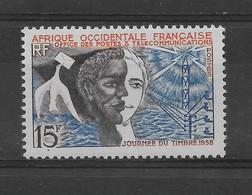 AOF N° 75 De 1959 ** TTBE - Cote Y&T 2015 De 2,88 € - Unused Stamps