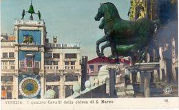 VENEZIA - I Quattro Cavalli Della Chiesa Di S. Marco - Venezia