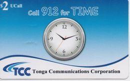 TONGA PREPAID PHONECARD TCC CALL 912 FOR TIME 2$- Expire Date 31/12/12- USED(bx1) - Tonga