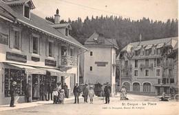 CPA  Suisse, ST CERGUE, La Place - VD Vaud