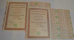 La Boutonnerie De L'Ile De France à Villenot, 2 Actions - Textile