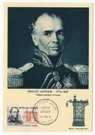 Carte Maximum - Général DROUOT - Premier Jour Nancy 1961 - 1960-69