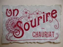 Un Sourire De Chauriat 1907 Beziers Herault Bourg Lastic (f3 - Clermont Ferrand
