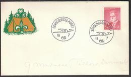 Sweden Sovdeborgslagret 1961 / Pathfinder, Scout, Scouts, Scoutism, Scoutisme, Scouting, Jamboree, Pfadfinder - Movimiento Scout