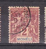 MOHELI YT 2 Oblitéré 15 Mars 1911 - Oblitérés
