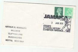 1979 GB Philatelic Exhibition JAMAICA POSTAL HISTORY EXHIBITION Warwick TREE Pic, Stamps - Trees
