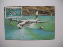 Carte Maximum    Polynésie Française   1979   N°  PA 148 - Cartes-maximum