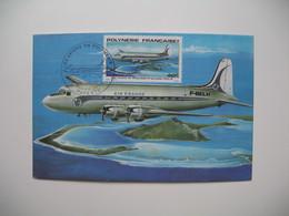 Carte Maximum    Polynésie Française   1979   N°  PA 149 - Cartes-maximum