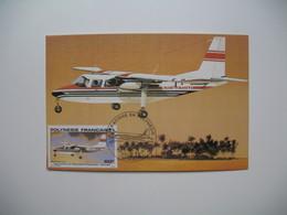 Carte Maximum    Polynésie Française   1979   N°  PA 150 - Cartes-maximum