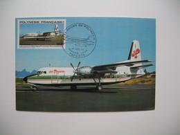 Carte Maximum    Polynésie Française   1979   N°  PA 151 - Cartes-maximum