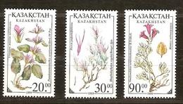 Kazakhstan 1999 Yvertn° 216-218 *** MNH Cote 8 Euro Flore Fleurs Bloemen Flowers - Kazakhstan