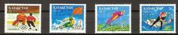Kazakhstan 1993 Yvertn° 26-29 *** MNH Cote 6,00 Euro Jeux Olympiques Lillehammer - Kazakhstan