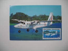 Carte Maximum   Polynésie Française   1980   N°  PA 157 - Cartes-maximum
