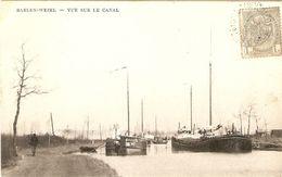 Baelen - Wezel : Vue Sur Le Canal ( Met Boten ) - Balen
