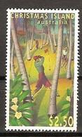 Christmas Island 1995 Yvertn° 415 *** MNH Cote 7,50 Euro Sport Golf - Christmas Island