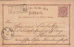 DR Ganzsache R3 Friedland Bei Göttingen 25.3.75 - Briefe U. Dokumente