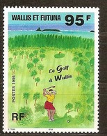 Wallis Et Futuna 1996 Yvertn° 486 *** MNH Cote 3,50 Euro Sport Golf - Neufs
