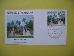 FDC   Polynésie Française   1983   N°  PA 176 - FDC