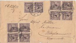 DR 61 Briefvorderseiten Inflation Teils Geprüft Ansehen !!!!!!!!! - Deutschland