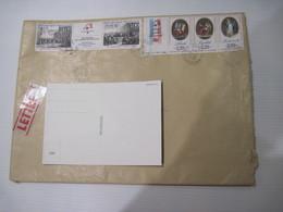 Enveloppe Expédié De GRENOBLE TIMBREE 1989 - 1961-....