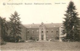 Bouchout : Gezondheidsgesticht / Etablissement Sanitaire --- Voorgevel  --- 1921 - Boechout