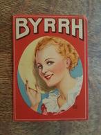 Byrrh Vin Tonique - Carnet Complet Et En Superbe état De Taffetas D'Angleterre - Pansement - Illustré Par LG - Publicités