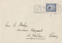 DR Briefvorderseite EF Minr.669 UER Formnummer - Deutschland