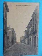 34 :SERVIAN : AVENUE De LA ROQUE, C.P.A. ,carte En Bon état, - Otros Municipios