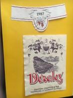 7051 -  Dézaley 1987 Gaston Chappuis Suisse - Etiquettes