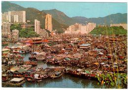 Hong Kong. View Of Aberdeen. VG. - Cina (Hong Kong)