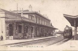 ST  RAPHAEL  LA GARE 1914 - Saint-Raphaël