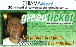 *CHIAMADIRECT - N.29 - GREEN TICKET* - Scheda NUOVA (MINT) (DT) - Italia