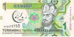 Turkmenistan - Pick New - 1 Manat 2017 - Unc - Commemorative - Turkmenistan