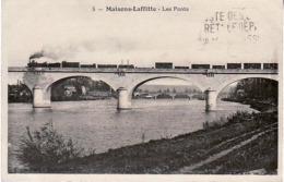 MAISONS LAFFITTE Viaduc Ferroviaire, Locomotive - Trains