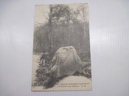 CPA    92 Bois De MEUDON-CLAMART La Pierre Aux Moines T.B.E. - France