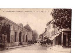 Cpa Belley  Rue Cordon  La Grenette - Belley