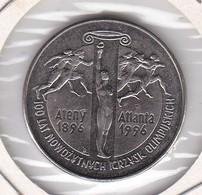 MONEDA DE POLONIA DE 2 ZLOTYCH DEL AÑO 1995 (COIN) ATENAS 1896 - ATLANTA 1996 OLIMPIC GAMES - Polonia