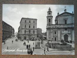 CALTANISSETTA - PIAZZA GARIBALDI --    -ANIMATA    --BELLA  - - Altre Città