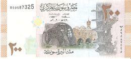 Syria - Pick 114 - 200 Pounds 2009 - Unc - Siria