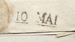 Dispersion D'une Collection De Paris. Pour Nantes (Loire Inférieure). Cachet D'arrivée De NANTES. 1806 - Marcophilie (Lettres)