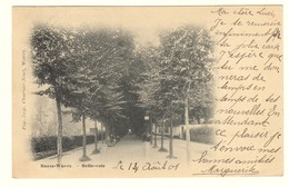 #12426[Postkaart] Basse-Wavre. - Belle-voie / Pap.-Imp. Charlier-Niset, Wavre. [waver Parkje Wandelweg Laan Neerwaver]. - Wavre