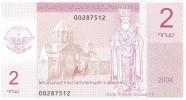 Nagorno Karabakh - Pick N.D - 2 Dram 2004 - Unc - Nagorno Karabakh