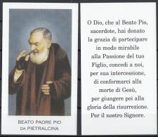 Beato Padre Pio Da Pietralcina - Santini