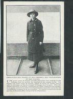 Guerre 14/18 Troupes Anglaises,employées Des Trains,omnibus,télégraphes Et Des Postes - Guerre 1914-18