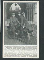 Guerre 14/18 Troupes Anglaises,personnel Féminin Des Services De L'aviation - Oorlog 1914-18