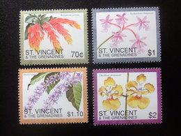 ST. VINCENT The GRENADINES 1996 FLORE FLORA FLEURS FLORES FLOWERS Yvert 2883 /86 ** MNH - St.Vincent Y Las Granadinas