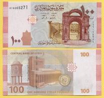 Syria 100 Lira P-113 2009 (Prefix A) UNC - Syrie